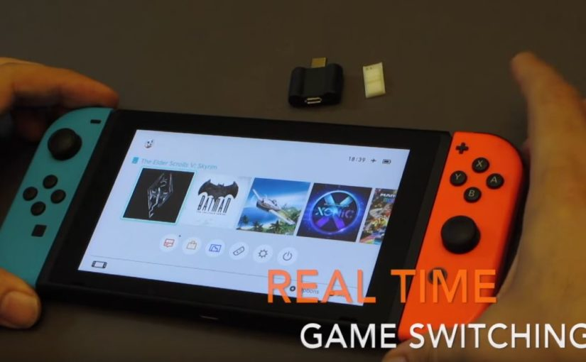 Hacker la Nintendo Switch en 5 min – Test du SX PRO
