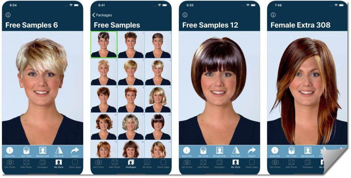 Quelles sont les meilleures application pour le choix de coiffure